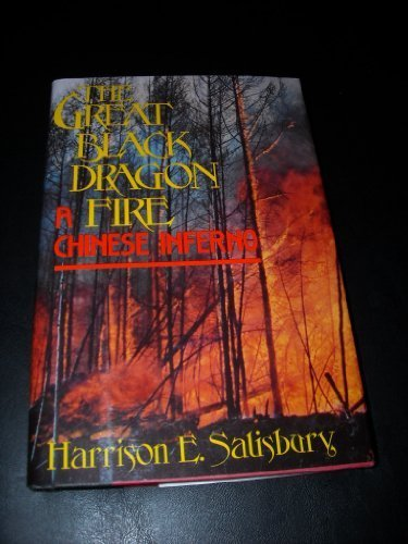 book Great Black Dragon Fire: A Chinese Inferno by Salisbury, Harrison E. (1989) Hardcover
