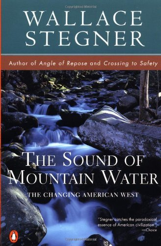 book Sound of Mountain Water by Stegner Wallace (1997-11-01) Paperback
