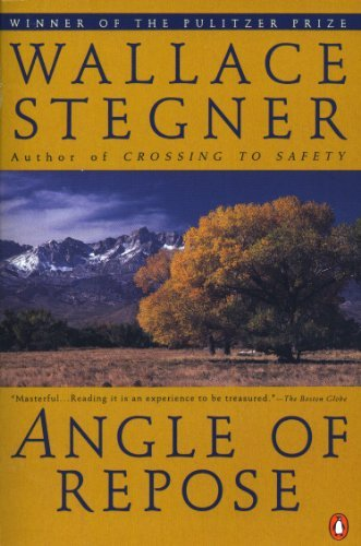 book By Stegner Wallace - Angle of Repose (Contemporary American Fiction) (Reprint) (4\/15\/92)