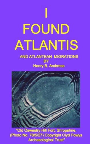 book I Found Atlantis and Atlantean Migrations