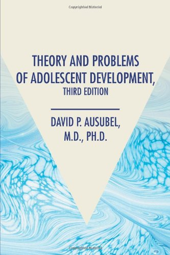 book Theory and Problems of Adolescent Development, Third Edition