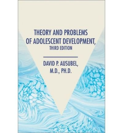 book [ { THEORY AND PROBLEMS OF ADOLESCENT DEVELOPMENT, THIRD EDITION [ THEORY AND PROBLEMS OF ADOLESCENT DEVELOPMENT, THIRD EDITION ] BY AUSUBEL, DAVID P ( AUTHOR )NOV-01-2002 HARDCOVER } ] by Ausubel, David P (AUTHOR) Nov-15-2002 [ Hardcover ]