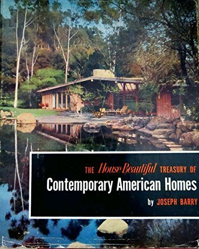 book The House Beautiful Treasury of Contemporary American Homes