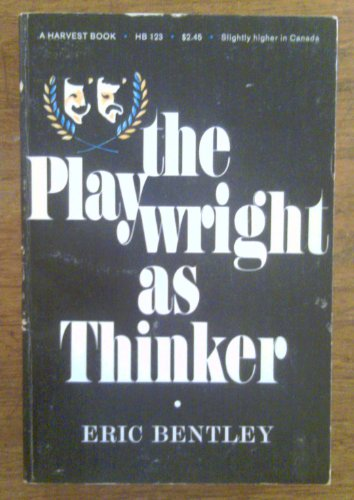 book The Playwright as Thinker