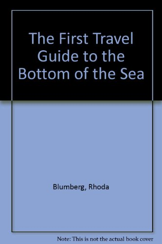 book The First Travel Guide to the Bottom of the Sea