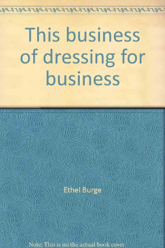 book This business of dressing for business