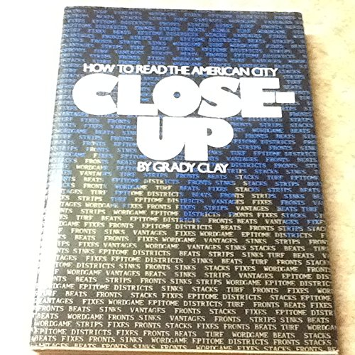 book Close-Up, How to Read the American City