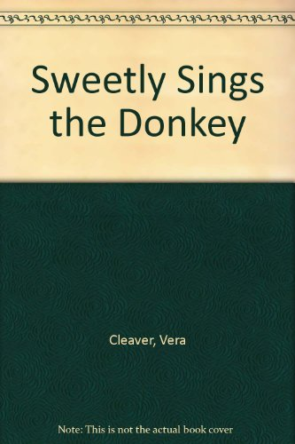 book Sweetly Sings the Donkey