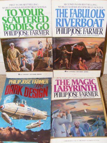 book RIVERWORLD SEQUENCE: To Your Scattered Bodies Go; The Fabulous Riverboat; The Dark Design; The Magic Labyrinth; Gods of the Riverworld
