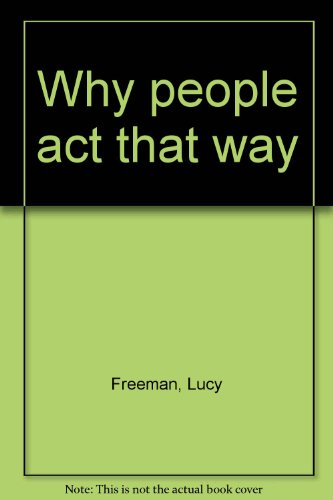 book Why people act that way