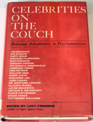 book Celebrities on the Couch: Personal Adventures of Famous People in Psychoanalysis