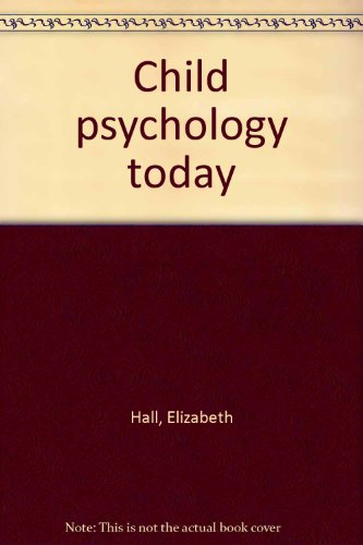 book Child psychology today
