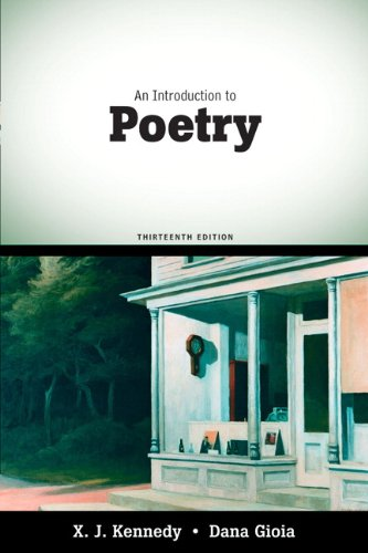 book An Introduction to Poetry (13th Edition)