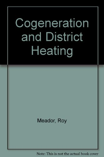 book Cogeneration and District Heating