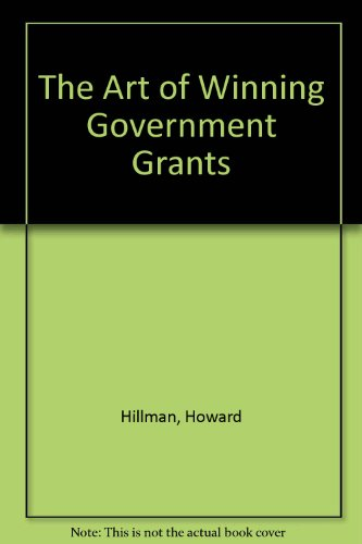 book The Art of Winning Government Grants