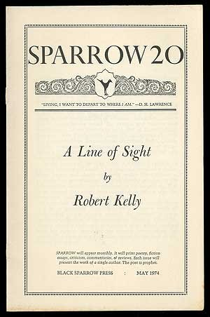 book Sparrow 20: A Line of Sight, May 1974