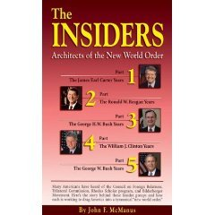 book The Insiders Architects of the New World Order 2004 edition