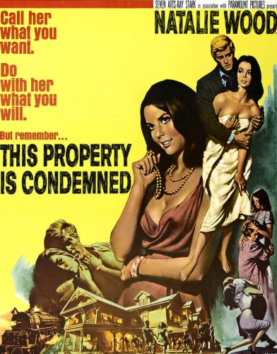 book This Property Is Condemned: Movie Script Screenplay (Based on a play by Tennessee Williams.)
