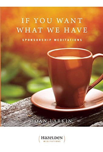 book If You Want What We Have: Sponsorship Meditations