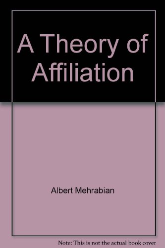 book A theory of affiliation