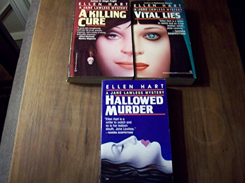 book Ellen Hart 3 Volumes Set: Vital Lies, A Killing Cure & Hallowed Murder