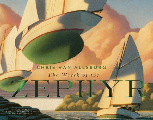 book The Wreck of the Zephyr 30th Anniversary Edition by Van Allsburg, Chris (2013) Hardcover