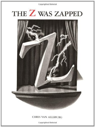 book The Alphabet Theatre Proudly Presents the Z Was Zapped: A Play in Twenty-Six Acts by Chris Van Allsburg (19-Sep-1997) Hardcover