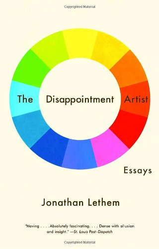 book The Disappointment Artist: Essays