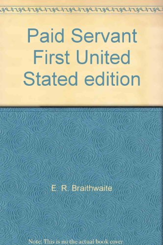 book Paid Servant First United Stated edition