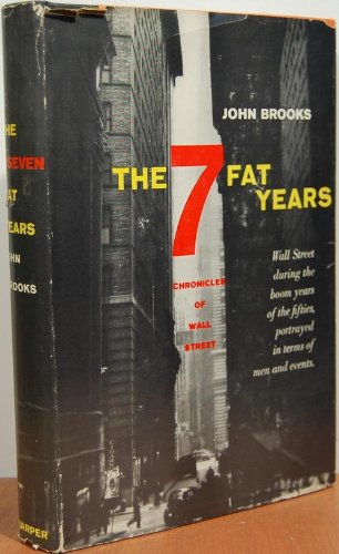 book The 7 Fat Years : Chronicles of Wall Street