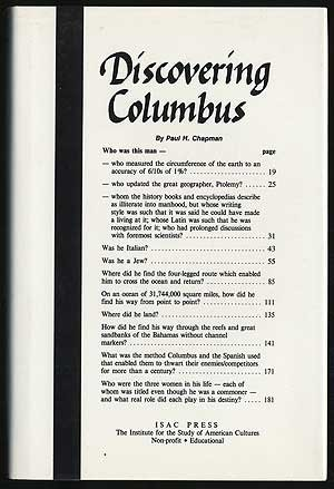 book Discovering Columbus