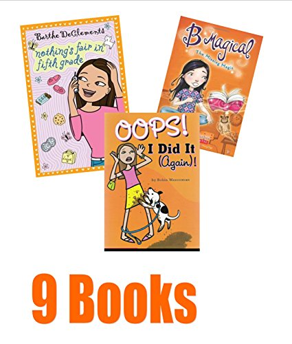 book Book Sets for Girls: Nothing Fair in the 5th Grade; the Story of Tracy Beaker; Meltdown; Girls Rule; the Ultimate Babysitter Hand Book; Ultimate Sleepover Party; 4th Grade Wizards; Oops I Did It Again