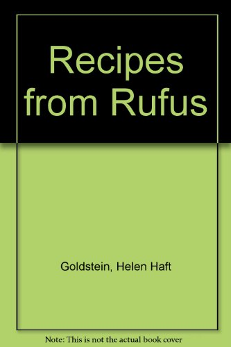 book Recipes from Rufus