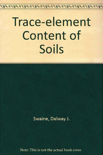 book Trace-element Content of Soils