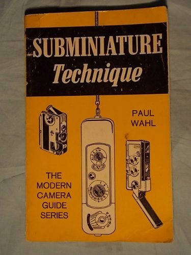 book Subminiature Technique