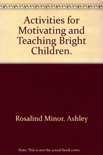 book Activities for motivating and teaching bright children