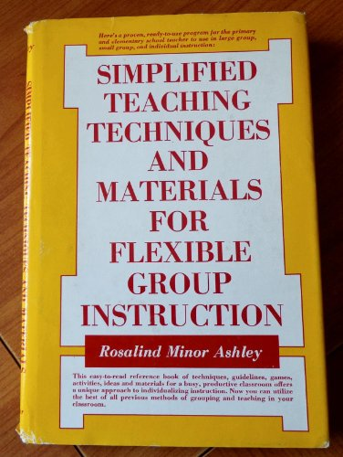 book Simplified teaching techniques and materials for flexible group instruction