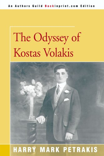 book The Odyssey of Kostas Volakis