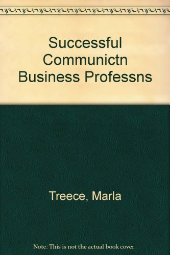 book Successful Communication For Business And The Professions
