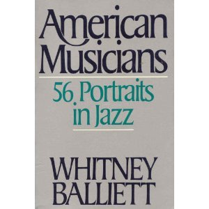 book American Musicians: 56 Portraits in Jazz