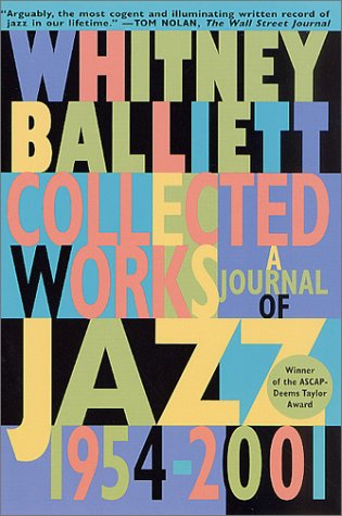 book Collected Works: A Journal of Jazz 1954-2001