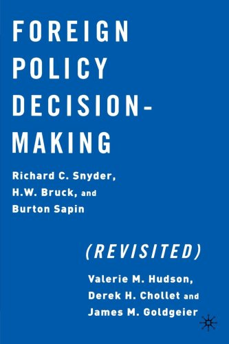 book Foreign Policy Decision Making (Revisited)