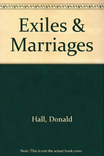 book Exiles and Marriage: Poems