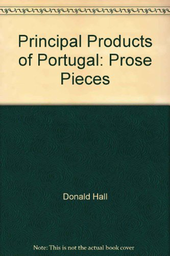 book Principal Products Of Portugal - Prose Pieces