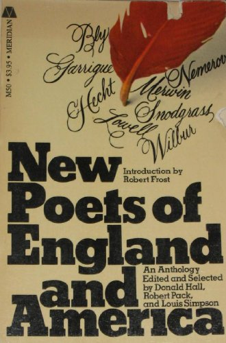 book New poets of England and America (A Meridian book)