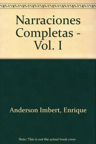 book Narraciones Completas - Vol. I (Spanish Edition)