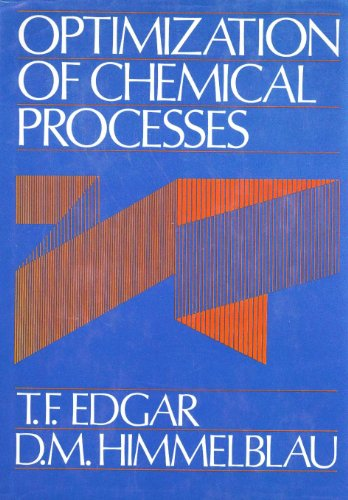 book Optimization of Chemical Processes (Mcgraw Hill Chemical Engineering Series)