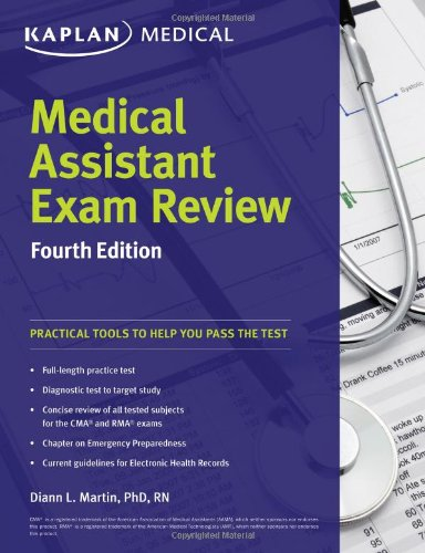 book Medical Assistant Exam Review Fourth Edition (Kaplan Medical Assistant Exam Review)