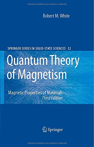 book Quantum Theory of Magnetism