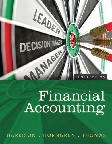 book Financial Accounting, 10th Edition